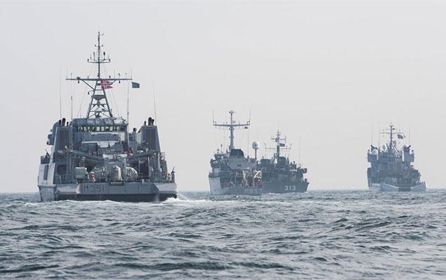 NATO-nun hərbi gəmiləri Qara dənizə daxil oldu