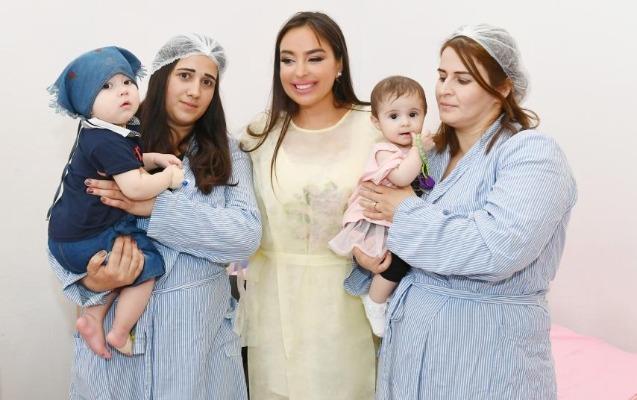 Leyla Əliyeva Elmi-Tədqiqat Pediatriya İnstitutunda