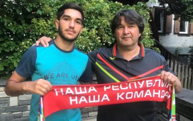 Azərbaycanlı futbolçu Rusiya klubunda