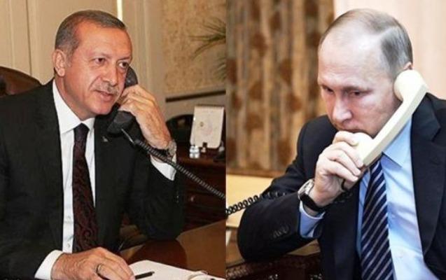 Ərdoğan və Putin bu ölkədəki böhranı müzakirə ediblər