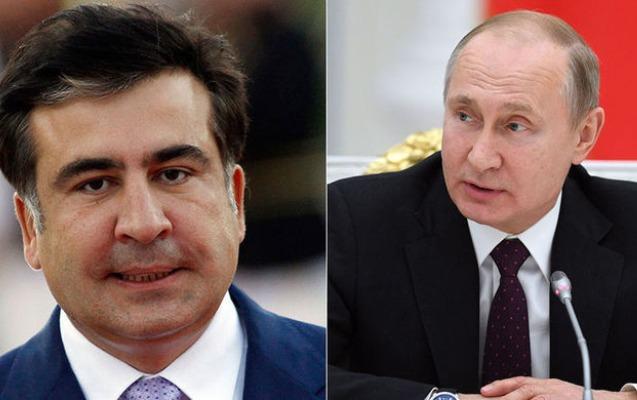 Saakaşvili Putini siçanla oynayan pişiklə müqayisə etdi