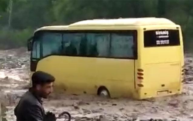 İsmayıllıya leysan yağdı - Turistlər yolda qaldı + Video