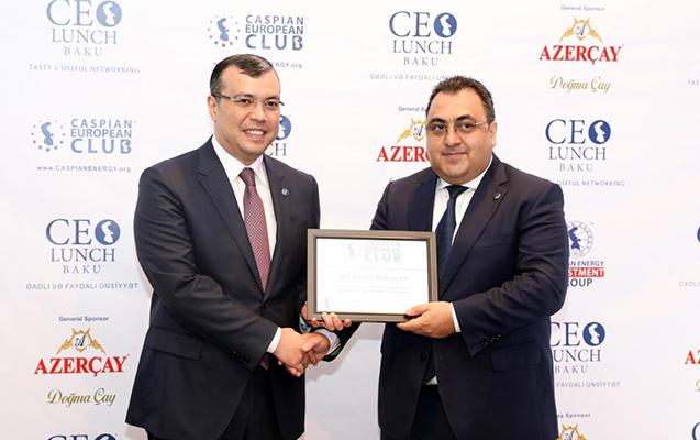 Nazir CEO Lunch Baku-nun fəxri qonağı olub