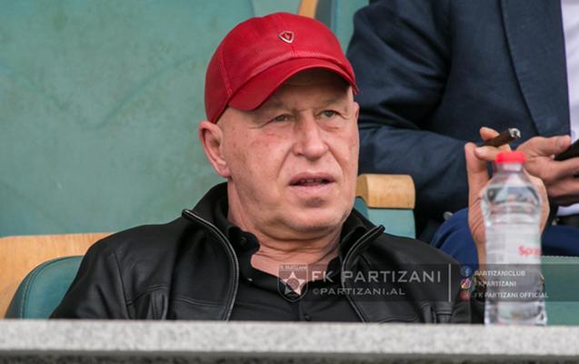 """""""Partizani""""nin prezidenti 0:0-dan razıdır"""