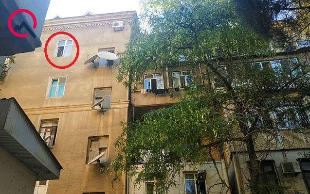 Polis rəisinin oğlu bu binadan yıxılıb ölüb...