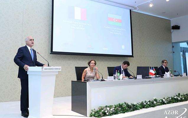 Bakıda Azərbaycan-Fransa biznes forumu keçirilib