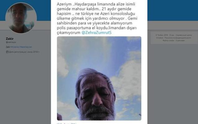 Zakir Məmmədov 21 ay Türkiyədə gəmidə saxlanılıb?