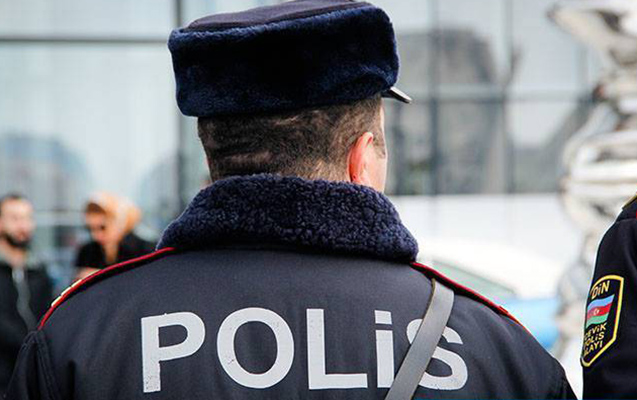 Baş Polis İdarəsi jurnalistərin iştirakı ilə reyd keçirib