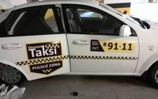 Bakıda taksi sürücüsü kondisionerə görə əlavə pul istədi