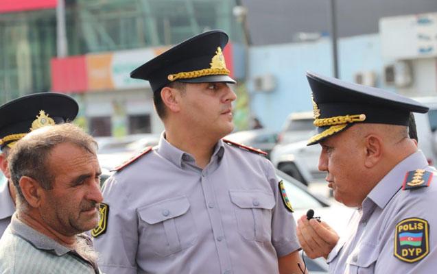 Polis jurnalistlərlə birgə gücləndirilmiş əməliyyat tədbirlərinə başladı