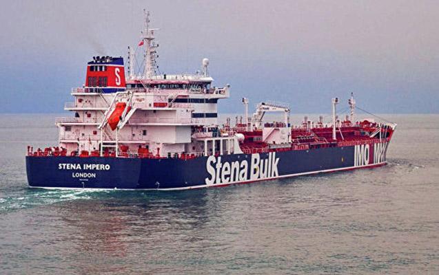 Rəsmi Tehrandan saxlanılan ingilis tankeri ilə bağlı açıqlama