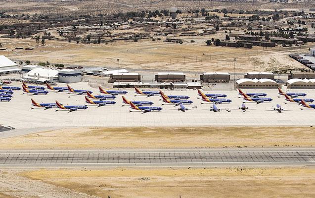 """Kaliforniyada """"Boeing""""in """"qəbiristanlığı"""" tapılıb"""
