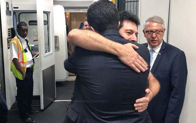 ABŞ-da həbsdən çıxan bankir Türkiyəyə göndərildi