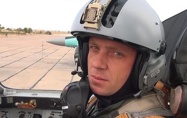 Hərbi təyyarə ilə qəzaya düşən polkovnik pilotun