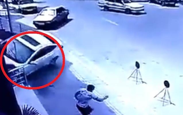 Xaçmazda avtomobil 35 yaşlı qadını vurdu