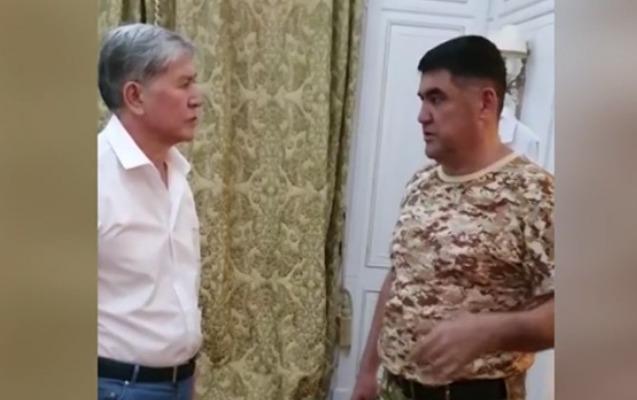 Atambayevi təslim olmağa razı salan dövlət məmuru işdən çıxarıldı