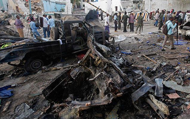 Somalidə hərbi bazaya hücum
