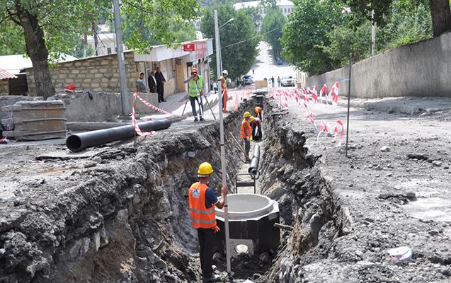 Daşkəsəndə su və kanalizasiya tikintisi başa çatdı