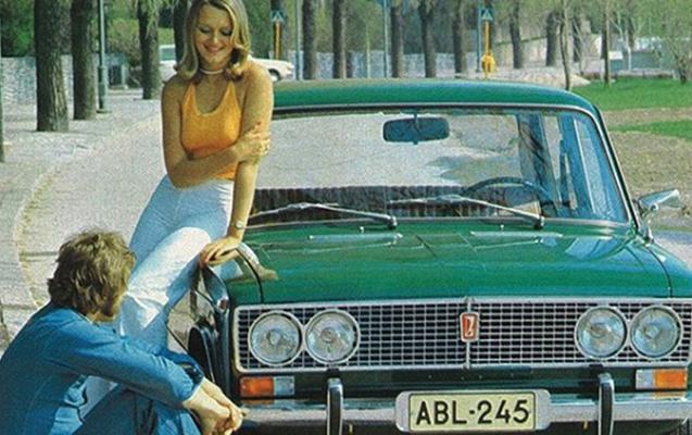 Sovetin maşınları 70-ci illərdə