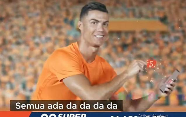 Ronaldo çəkildiyi reklama görə lağa qoyuldu