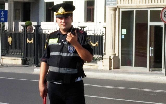 Bakıda yol polislərinə yeni formalar verildi