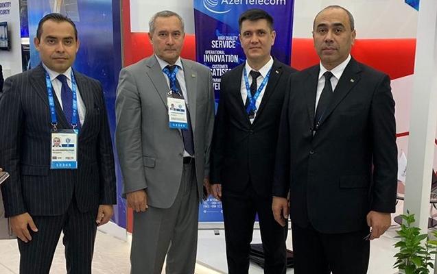"""""""AzerTelecom"""" Türkmənbaşındakı sərgidə"""