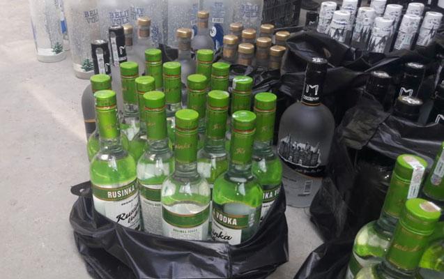 Bazarda saxta alkoqollu içkilər var