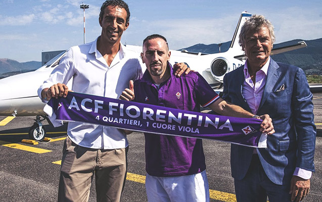 """Riberi rəsmən """"Fiorentina""""da"""