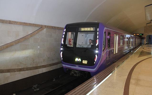 Bakı metrosunda daha iki yeni qatar