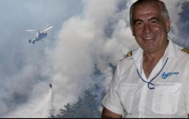 Türkiyədə yanğının söndürülməsində iştirak edən pilot ölü tapıldı
