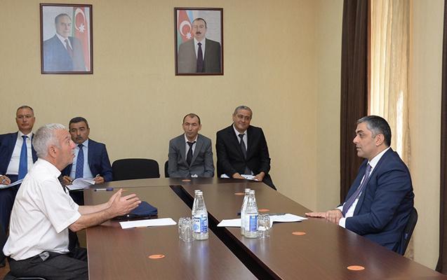 Nazir Tovuzda, birinci müavini Ağstafada vətəndaşlarla görüşdü