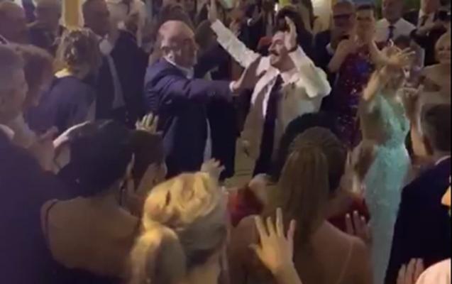 Elmar Məmmədyarovun oğlunun toyundakı ermənicə mahnı montaj imiş-VİDEO