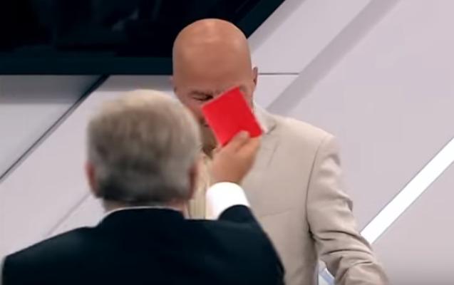 """Ukraynalı politoloq """"Rossiya 1""""in efirindən qovuldu"""