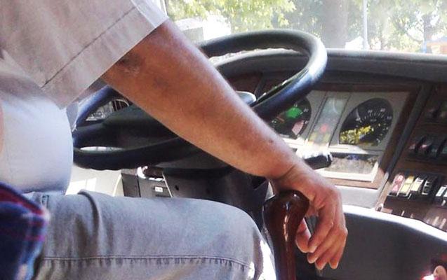 Qadını vurub qaçan avtobus sürücüsü saxlanıldı
