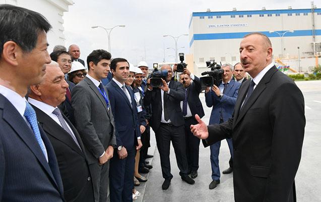 İlham Əliyev açılışa qatıldı - Fotolar