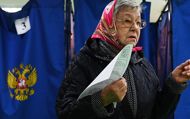 Rusiyada vahid səsvermə günü başa çatdı - Yenilənib