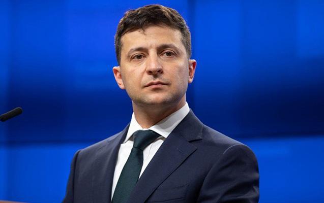 Zelenski Rusiya televiziyasına ilk müsahibəsini verdi