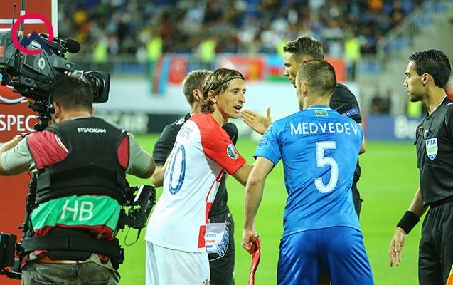 Azərbaycan ilk xalını Xorvatiya ilə oyunda qazandı