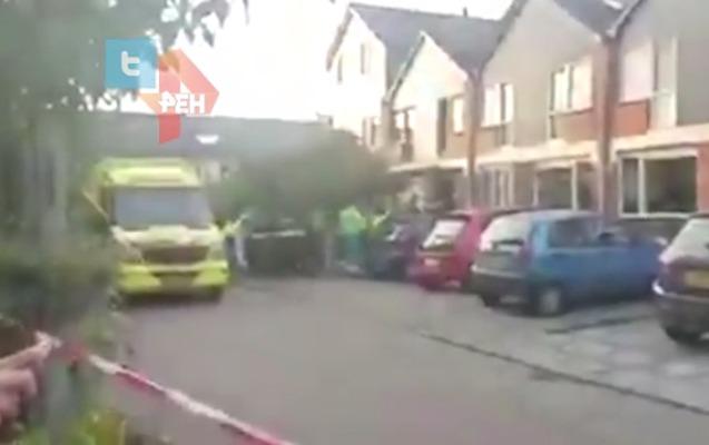 Hollandiyada polis insanları güllələdi