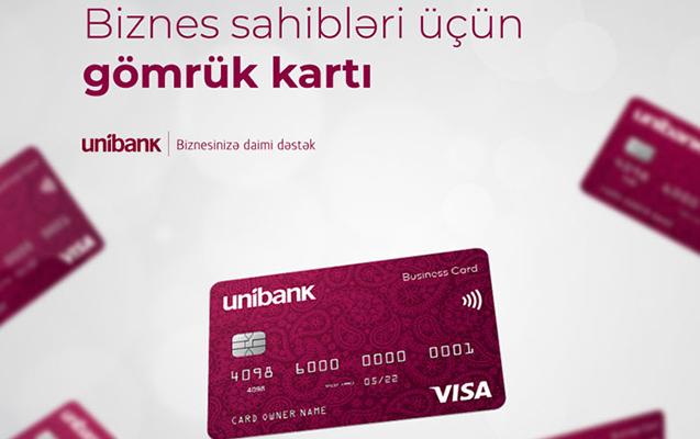 Unibankdan Gömrük kartı almaq üçün 5 səbəb
