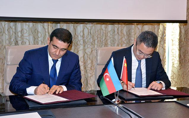 """DGK və """"Huawei Tech. Azerbaijan"""" arasında protokol imzalandı"""