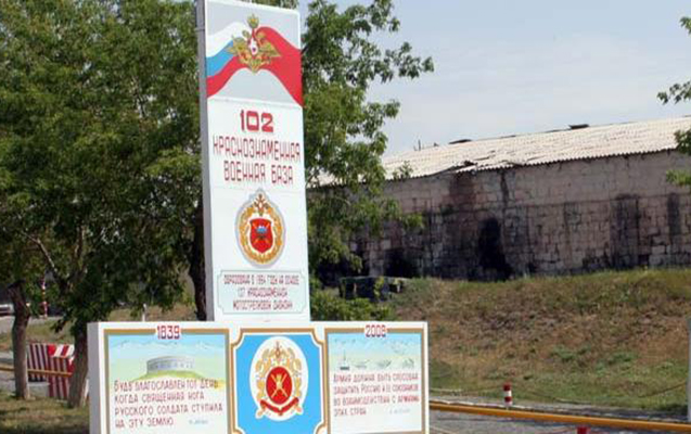 Ermənistanda rus əsgər öldürüldü