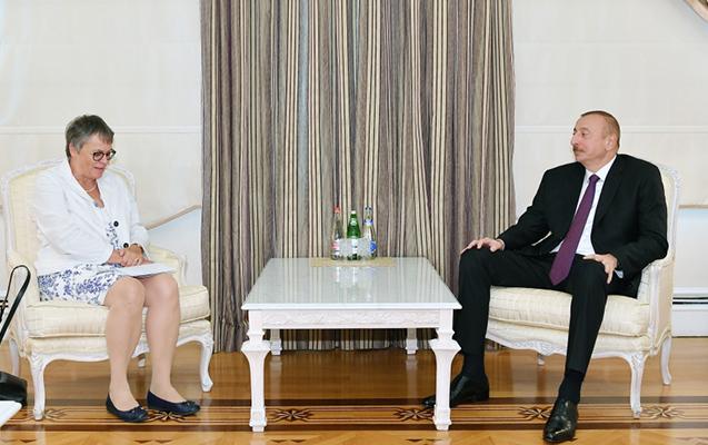 AŞPA prezidenti İlham Əliyevin qəbulunda