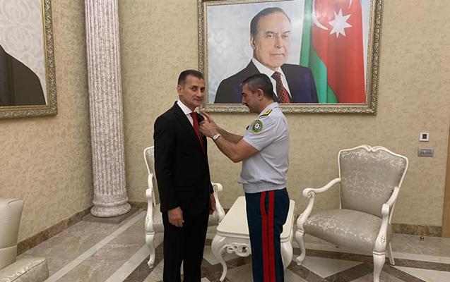 Mirşahin Ağayevə medal verildi - Foto