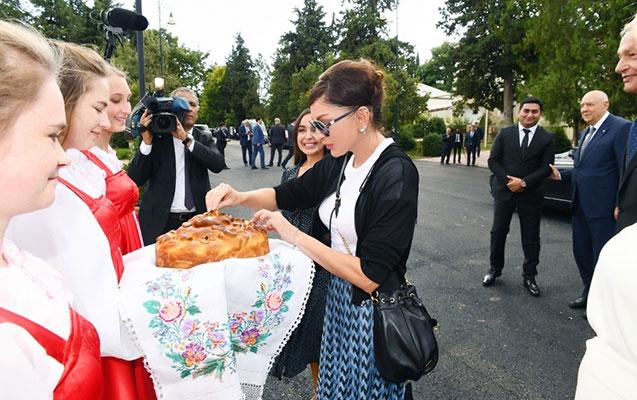 Mehriban Əliyeva İvanovkada