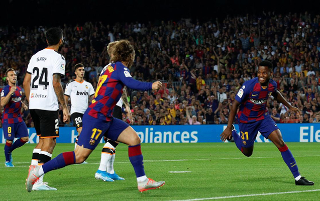 """""""Barselona"""" """"Valensiya""""nı darmadağın etdi"""