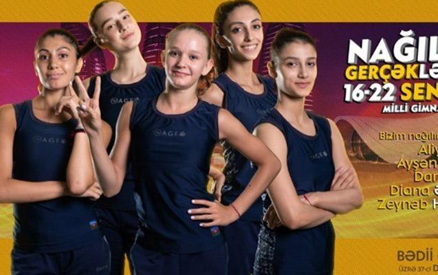 Bakıda gimnastika üzrə dünya çempionatı başlayır