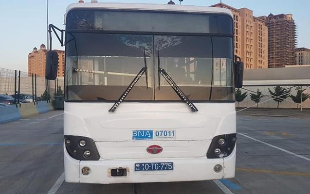 Qaydanı pozan avtobus sürücüsü işdən çıxarıldı