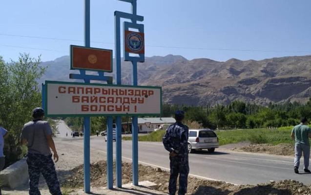 Tacikistan-Qırğızıstan sərhədində vəziyyət gərginləşdi