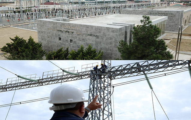 Bakıda 220 kV-luq yarımstansiyalar yenidən qurulur